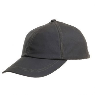 Wax Baseball Cap Brown