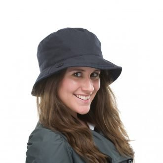 Carol Wax Cotton Navy Hat
