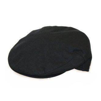 Cheshire Linen Flat Cap Navy
