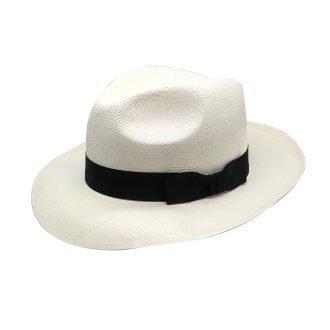 Siena Brisa Panama Hat Black Ribbon Band