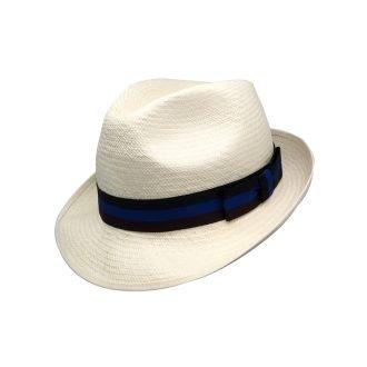 Olney Panama Hat S237 Stripe Band 10