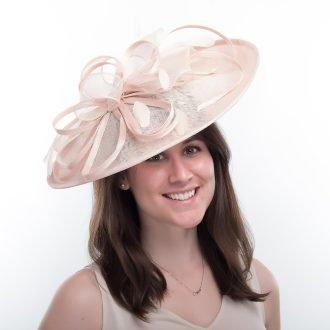 ladies-wedding-fascinator-pink-mist